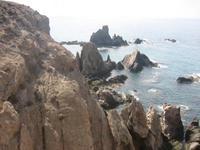 Cabo de Gata: arrecife de las Sirenas y Faro