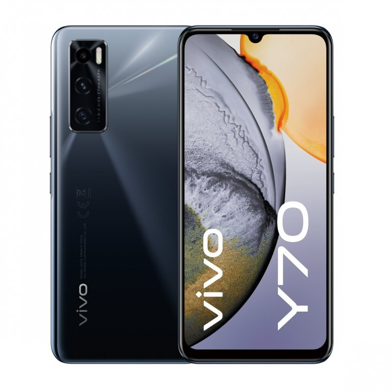 Vivo Y70 8/128GB Gravity Black Libre