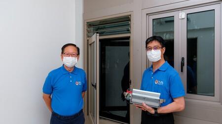 Estas ventanas son capaces de ventilar la sala mientras están cerradas y sin dejar pasar el ruido ni la contaminación exterior