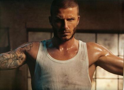 Beckham calendar 2009