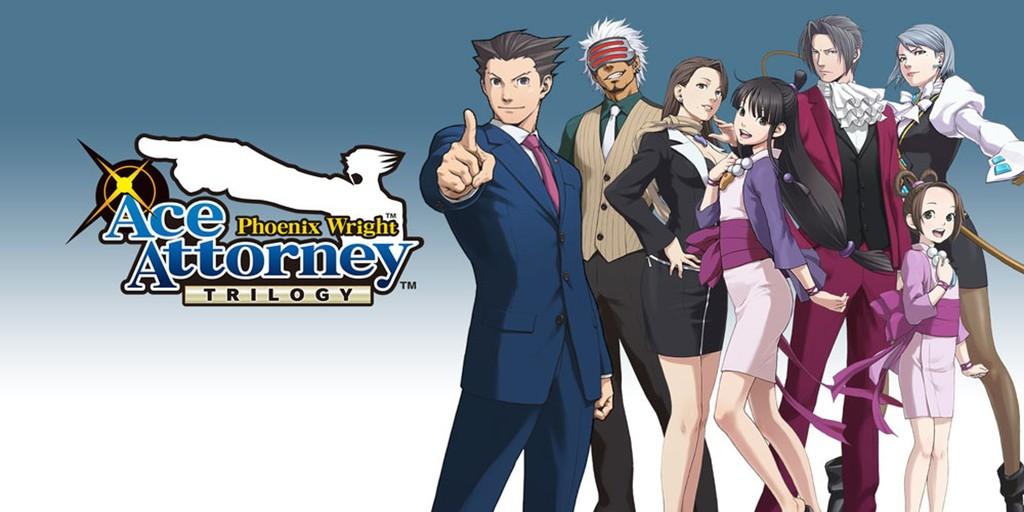 Phoenix Wright: Ace Attorney Trilogy es anunciado para PS4, Xbox One, Nintendo Switch y PC [TGS 2018]
