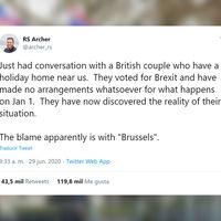 """""""Mensaje del hijo idiota"""": la historia que mejor resume el gran autoengaño que supone el Brexit"""