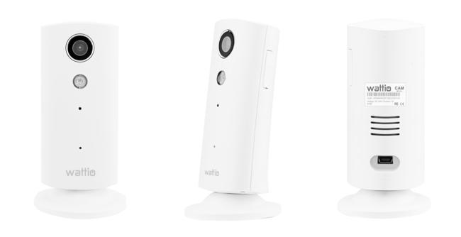WattioCAM, una cámara IP HD que podrás gestionar desde el iPhone