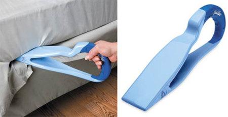 Una ayuda a la hora de hacer la cama