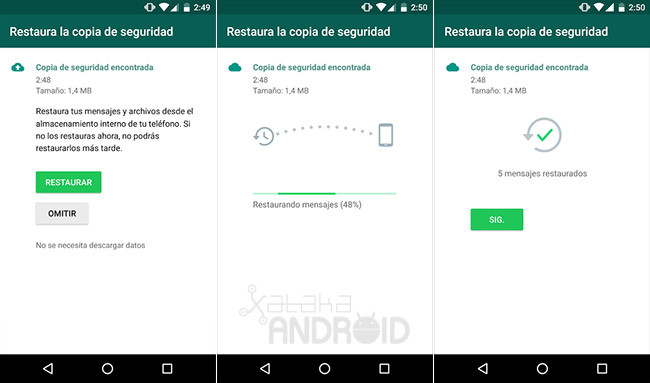 Now You Can Enjoy The Whatsapp For Android Backup Google