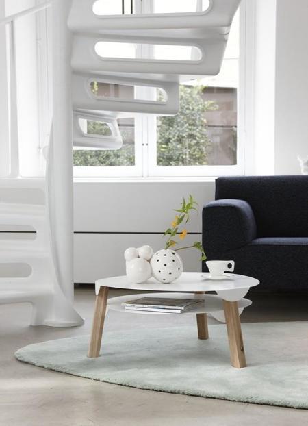 Deck y Swan, las nuevas mesas de Spoinq by Marc Th. van der Voorn, son adorables