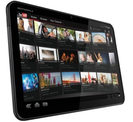 Motorola Xoom recibirá Ice Cream Sandwich