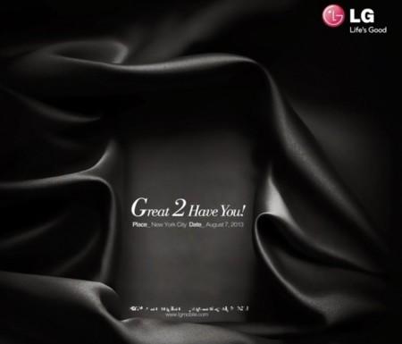 El LG Optimus G2 quiere una cita para el 7 de agosto