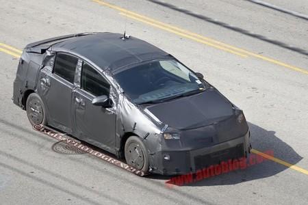 Toyota Prius 4g, aparentemente con pocos cambios exteriores
