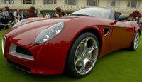 El Alfa 8C Spider, para 2008