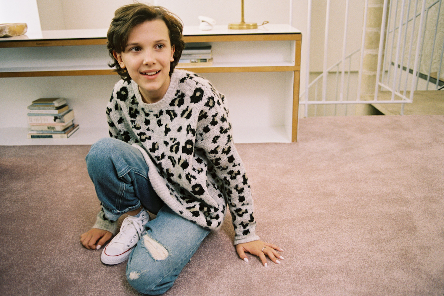 Converse Forever Chuck Scene y Millie Bobby Brown