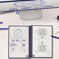 Cuadernos reutilizables e inteligentes, la solución tech para los nostálgicos que adoran escribir a mano y ser ecológicos