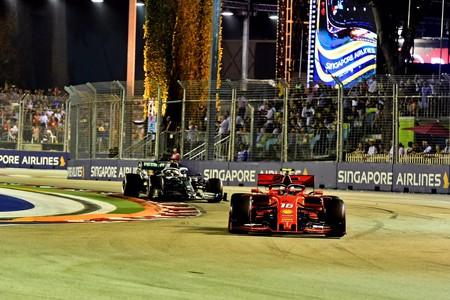 Leclerc Hamilton Singapur F1 2019