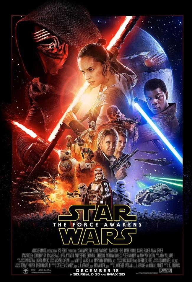 Cartel final de Star Wars: El Despertar De La Fuerza