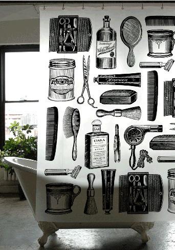 Detalle para la casa de un peluquero - 1