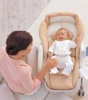 Mecer al bebé a través de levitación magnética, Roanju Auto Swing