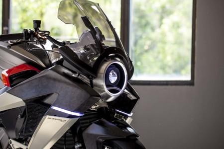 Burasca 1200, la espectacular visión de Aldo Drudi de la Honda VFR 1200F del futuro