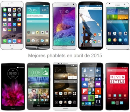 Phablets para todos los bolsillos: estos son los precios de los smartphones con mayor pantalla