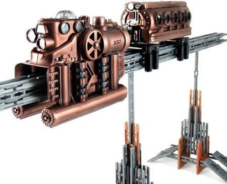 Un tren de juguete exclusivo para los nostálgicos