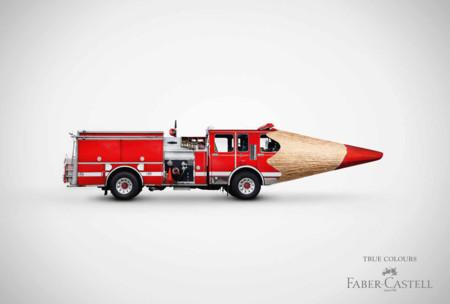 Fabercastell Truecolours Feuerwehr