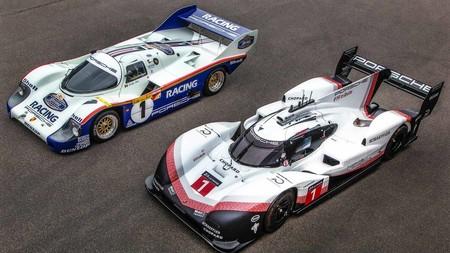 El brutal Porsche 919 Hybrid Evo y el mítico Porsche 956 C, reunidos este fin de semana en Nürburgring