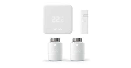 Tado Kit Inicio Termostato Inteligente Y Bridge Para Internet V3 2 Cabezales Termostaticos