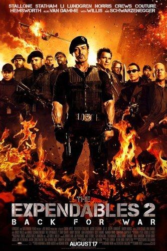 El cartel final de Los Mercenarios 2