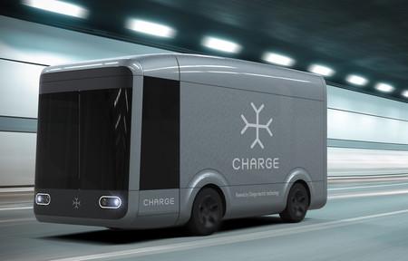 Esta furgoneta de reparto es autónoma, eléctrica y se arma en sólo cuatro horas