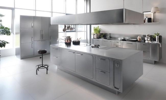 Buena o mala idea? Una cocina de acero inoxidable en el hogar