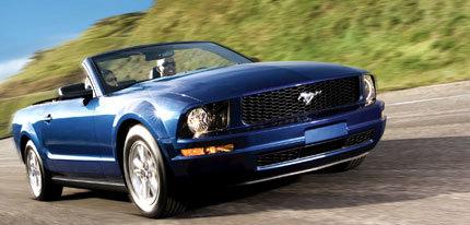 Máxima puntuación para el 2008 Ford Mustang Cabrio en los test de la NHTSA