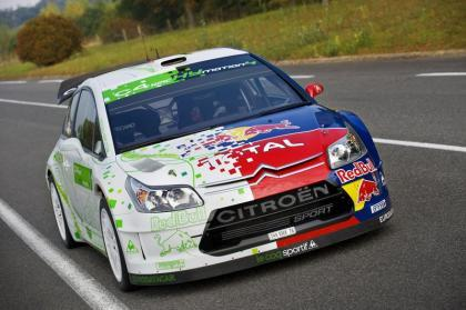 Citröen desvela en París su C4 WRC HYmotion4