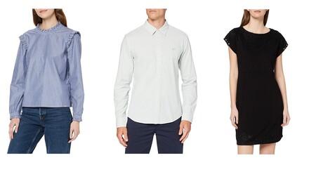 Chollos en tallas sueltas de camisas, pantalones o chaquetas Levi's, Superdry o Desigual a la venta en Amazon