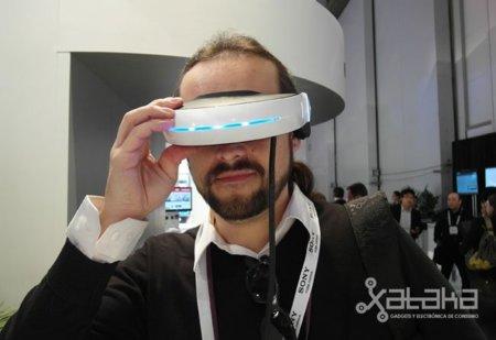 Sony enseña en CES el futuro del 3D con su display de proyección ocular