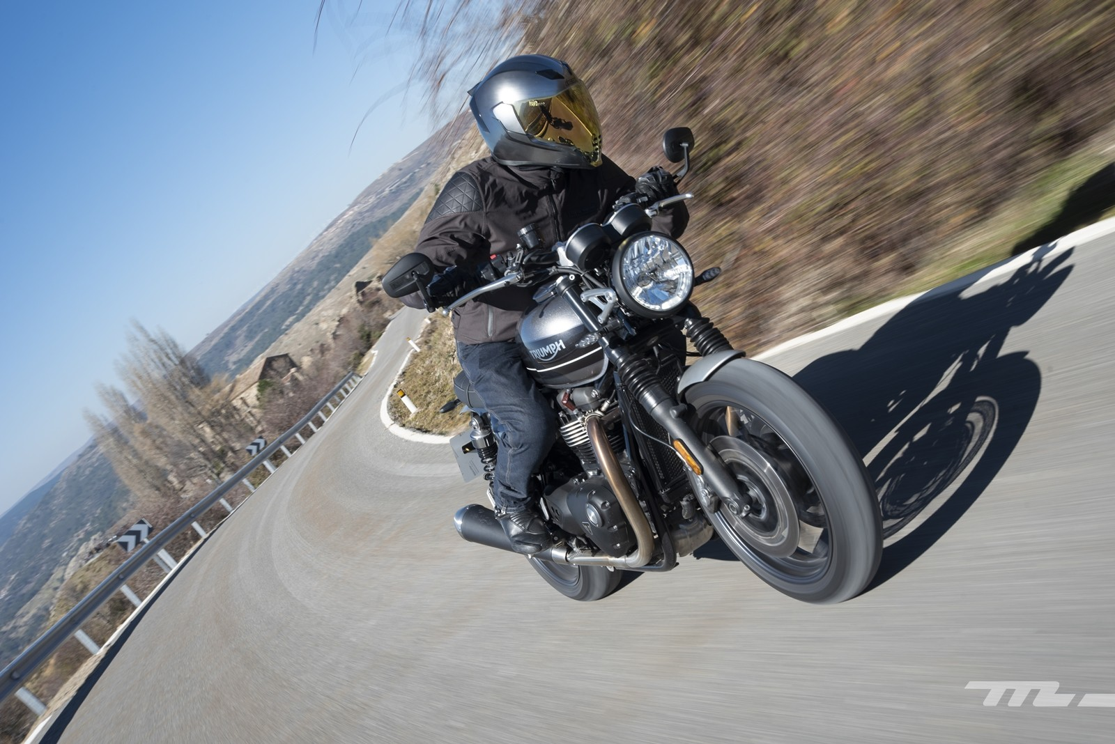 Foto de Triumph Speed Twin 2019, prueba (7/80)