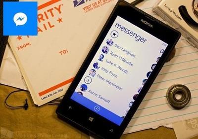 Messenger se actualiza con soporte para dibujos y para añadir contactos solo con el número telefónico