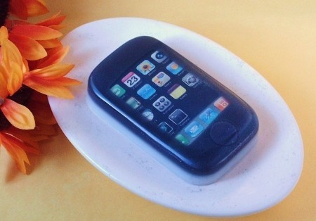 Un Jabón con forma de iPhone