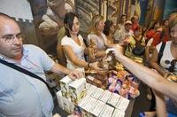 Cebolla dulce de Fuentes en la Expo de Zaragoza