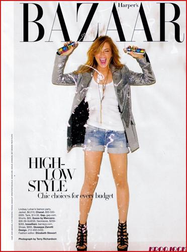 Foto de Lindsay Lohan en Harper's Bazaar (1/6)
