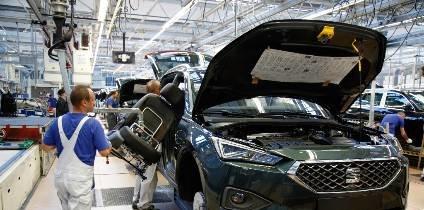 Síntomas de la desaceleración... La producción y exportación de coches retrocede en España