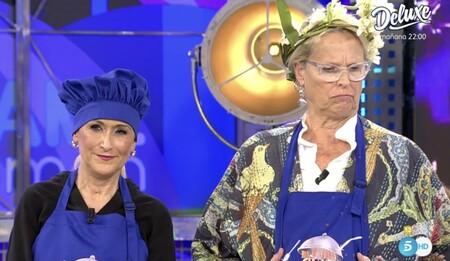 Cristina Cifuentes y Lucía Dominguín