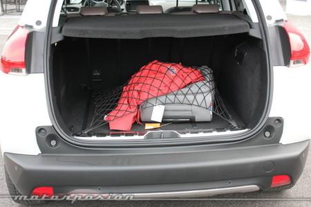 Peugeot 2008, maletero