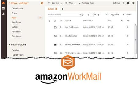 WorkMail, así es la alternativa de Amazon para el correo electrónico de las empresas