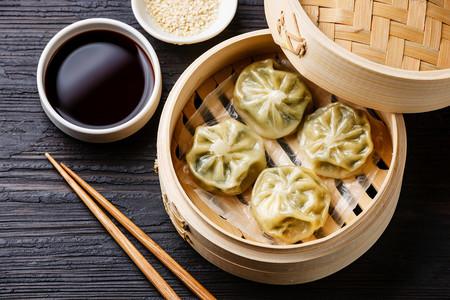 Dim sum. Dumplings