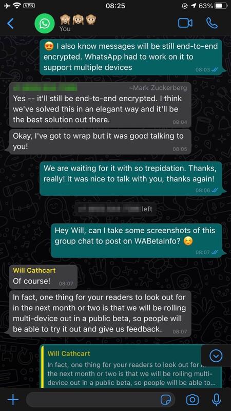 Whatsapp Modo Multidispositivo Confirmado Beta