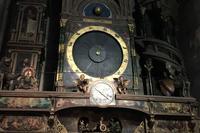 El reloj astronómico de la catedral de Estrasburgo