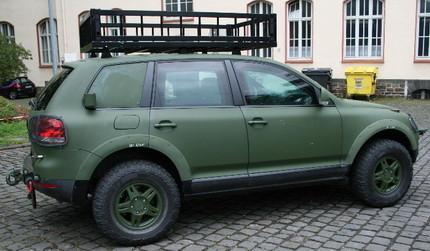 Volkswagen Touareg militar