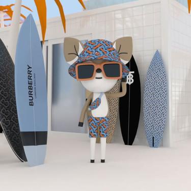 Burberry también apuesta por los videojuegos y presenta su colección de verano 'B Surf'
