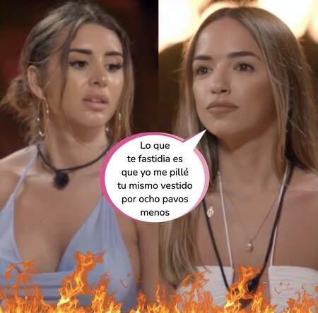 Marina y Lucía, enfrentadas por Isaac y unidas por el mal gusto: los estilismos más cutres de 'La Última Tentación'