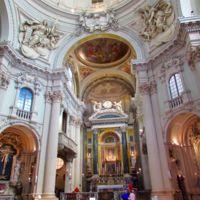 Interior Sta Maria della Vita Bolonia