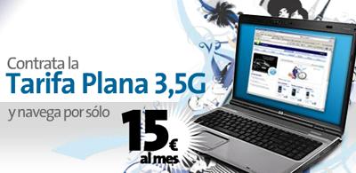 Movistar rebaja su Tarifa Plana 3G a 15 euros durante tres meses